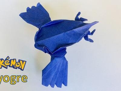 Pokemon: Origami Pokemon Kyogre by PaperPh2