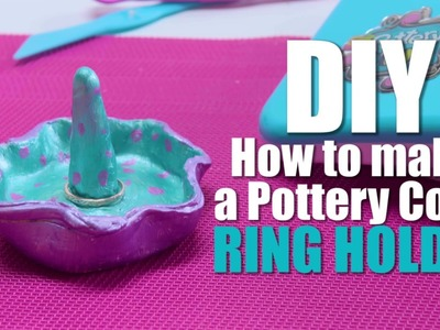 Pottery Cool - DIY Ring Holder