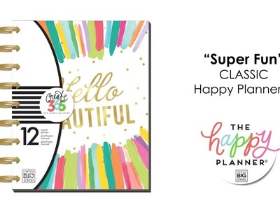 'Super Fun' Happy Planner Preview - CLASSIC