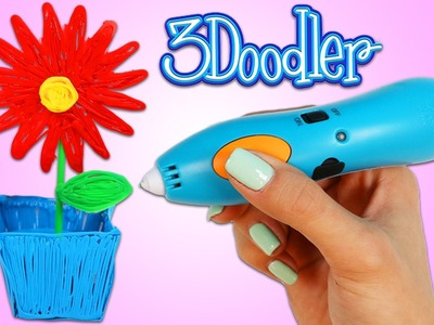 3Doodler Start 3D Pen for Kids Fun & Easy How to Make a 3D Flower Pot!