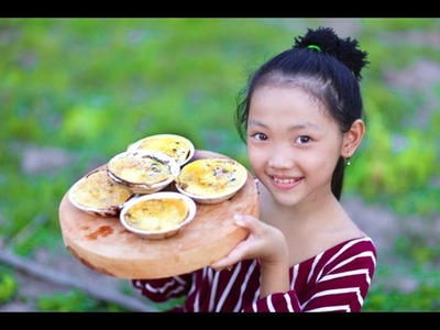 Amazing Smart Kid Cooking Village Eggs - How to Cooking Village Food my Country - Easy Grill Eggs