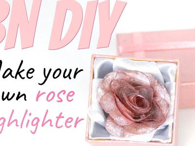 BEAUTY NEWS - DIY Rose Highlighter (Lancome inspired)