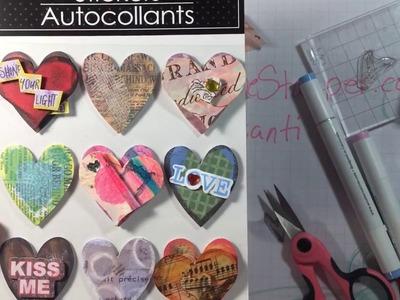 Buy It or DIY It - Dollar Tree Heart Stickers