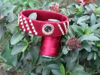 Calendar base designer bangles,how to make silk thread bangles with old calendars,latest bangles