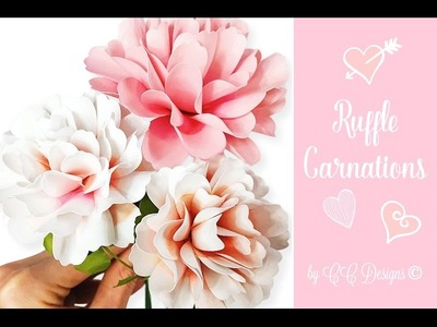 Carnation Paper Flower - How To DIY Flowers