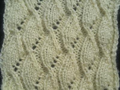 Diamond Shape Knitting Pattern