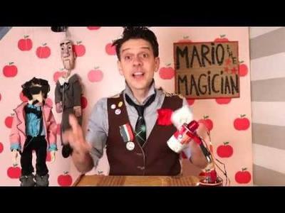"DIY Magic Lesson #1 ""the paper camera"" • with Mario the Maker Magician"