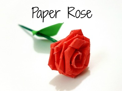 DIY Paper Rose.How to make small paper rose with paper strips.Paper Craft.Diy Paper Flower