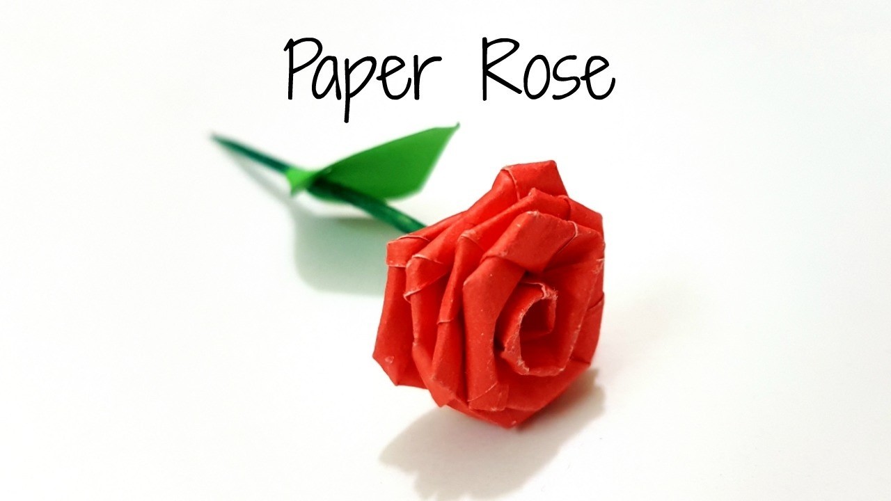 Diy paper rose to make small paper rose with paper stripsper diy paper rose to make small paper rose with paper stripsper craftdiy paper flower mightylinksfo