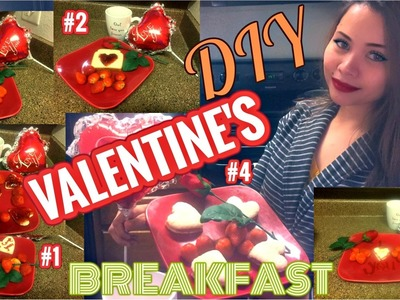 DIY VALENTINE'S BREAKFAST IDEAS!