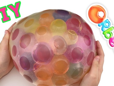 GIANT Orbeez Stress Ball | How to Make a Stress Ball with BIG Orbeez