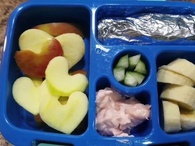 How I make my kindergartener's lunches - Bento Box Style - Week 6!