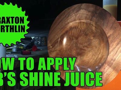 How To Apply OB's Shine Juice