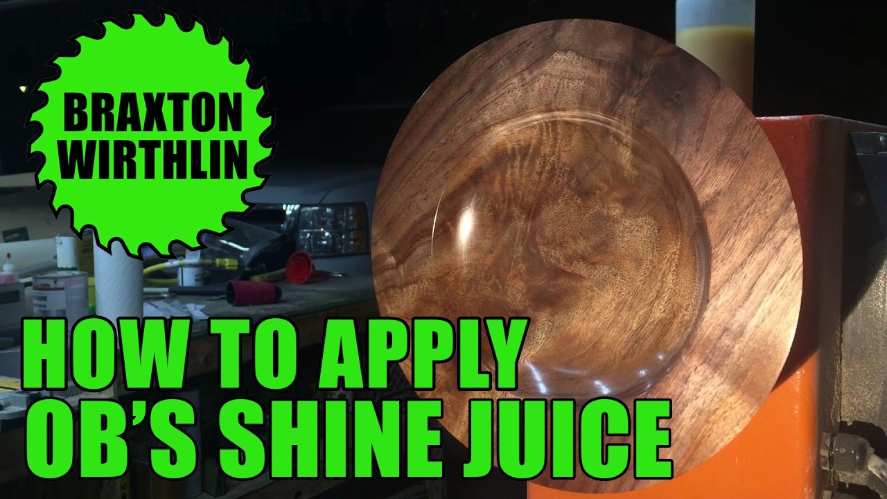 How To Apply OB's Shine Juice