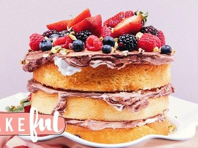 How To Decorate a Naked Cake | Cake Basics