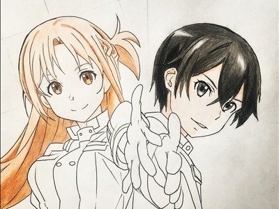 How to draw Kirito and Asuna (Sword Art Online) Ordinal Scale