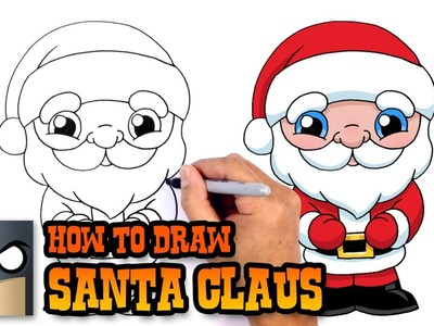 How to Draw Santa Claus | Christmas Drawing Lesson