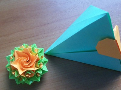 How to Fold an EASY Paper Box With Heart Not only for Valentine's Day Gifts. Origami Bookmark