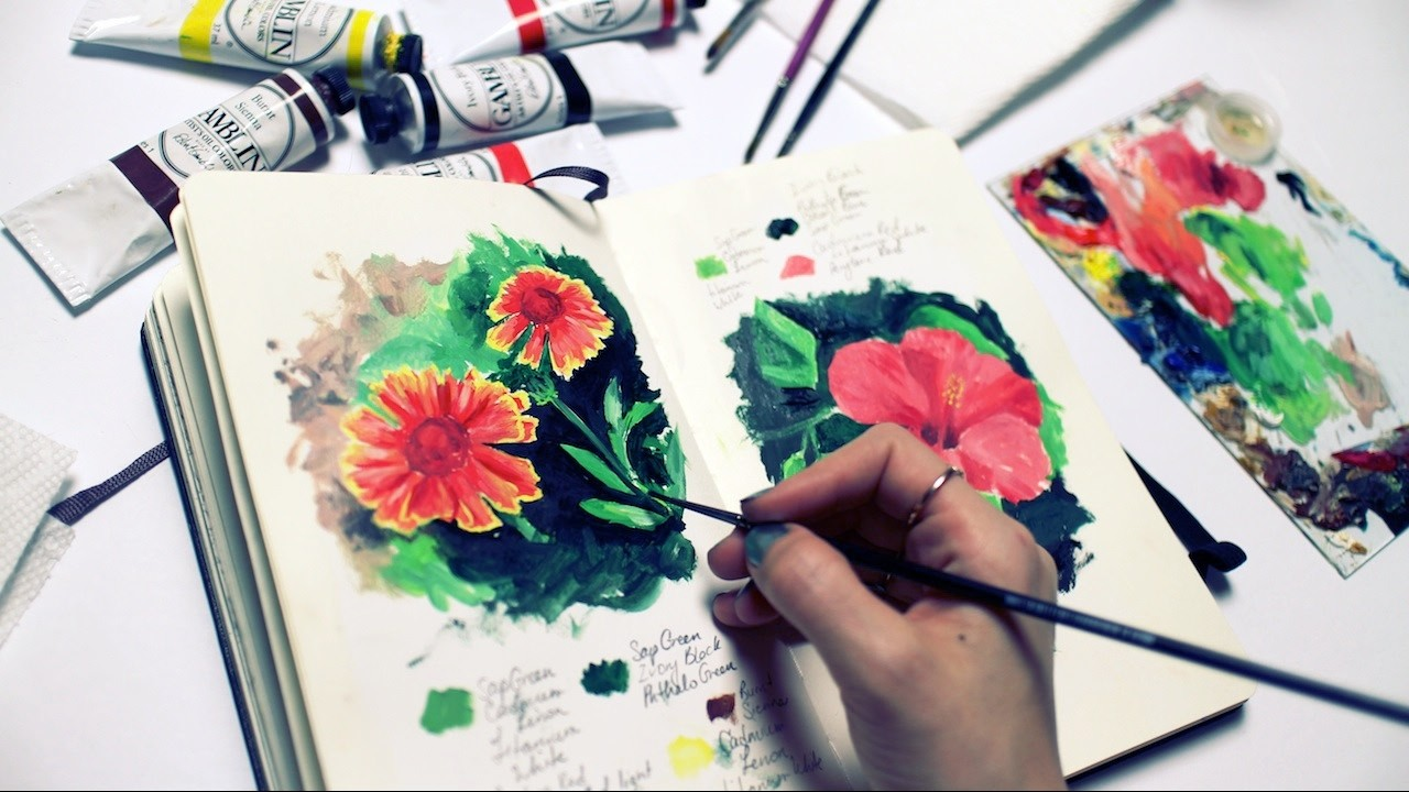 How to Get Ideas for Art   Sketchbook Sunday #24
