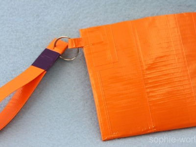 How to Make a Duct Tape Clutch | Sophie's World