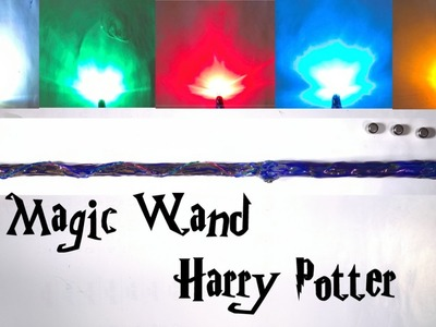 How to make a Magic Wand Harry Potter