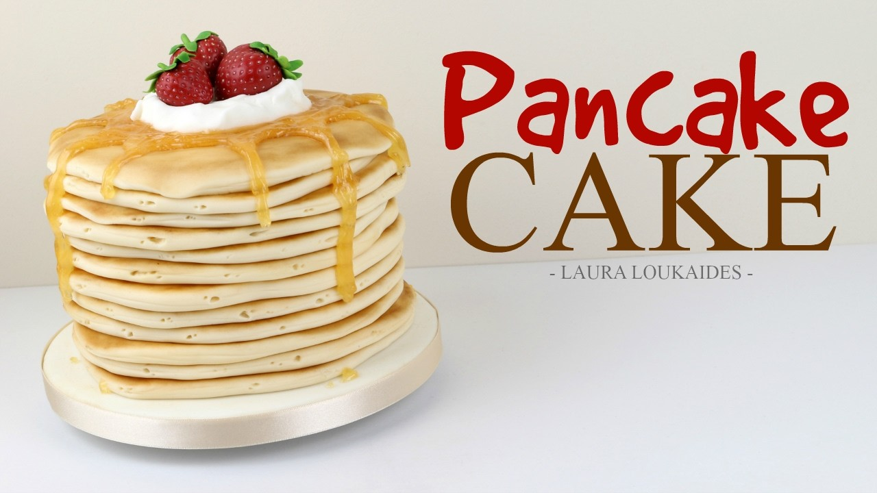 How to Make a Pancake Cake - Laura Loukaides