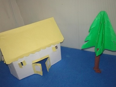 How to make a Paper House most Easy