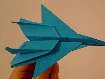 How To make A Paper Jet That Flies 10000 Feet Easy For Kids