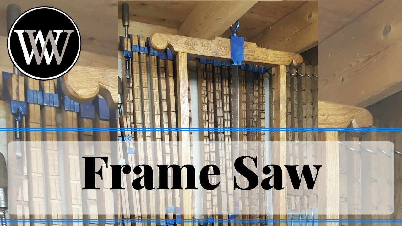How to Make a Roubo Style Frame Saw With All Hand Tool Woodworking
