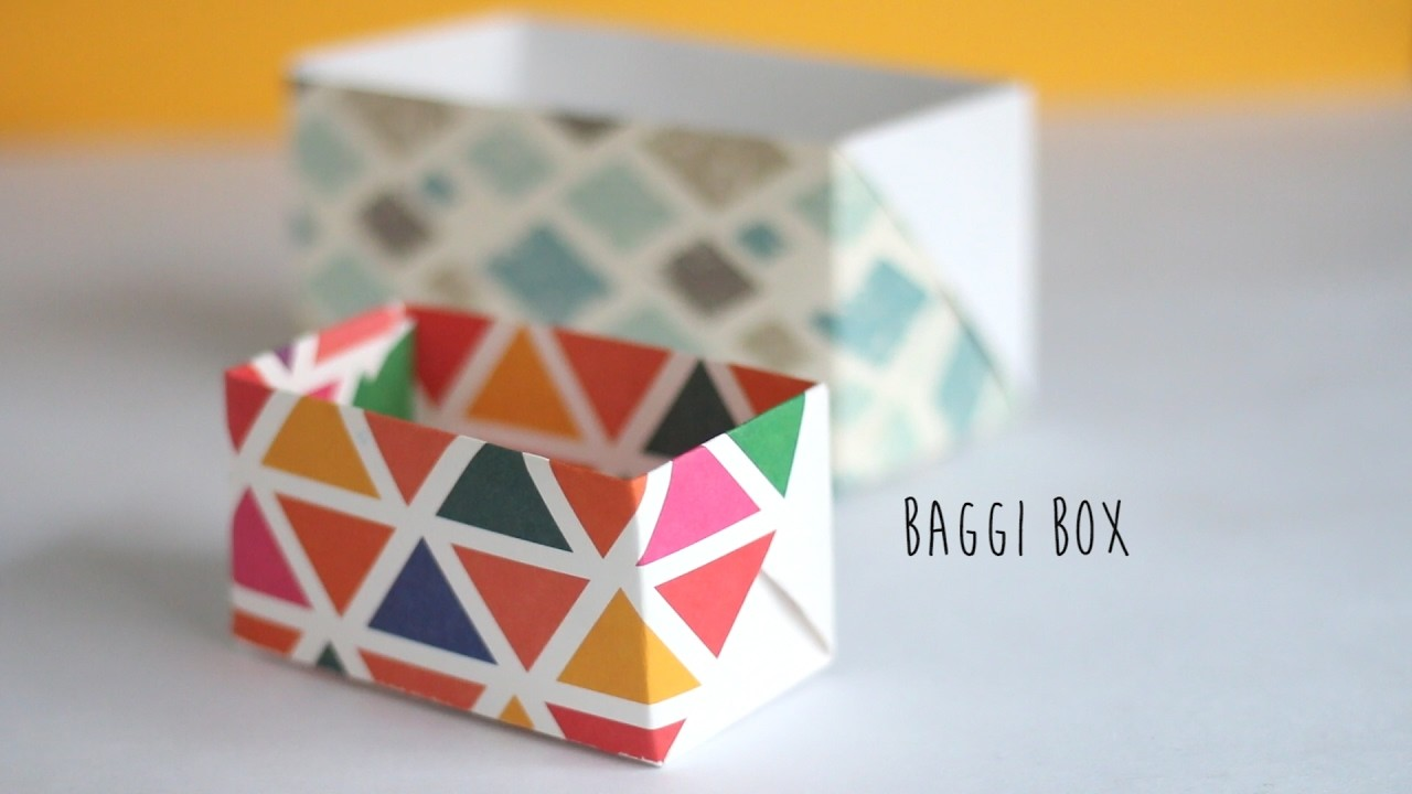 How to make: Baggi Box