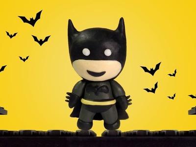 How To Make Batman Play Doh - Batman Clay Tutorial