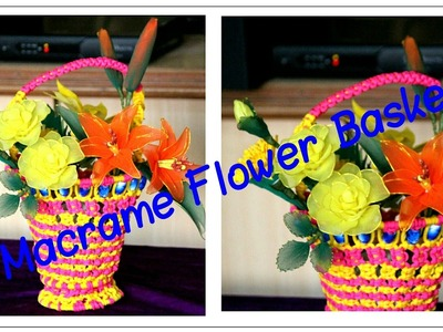 How to make Beautiful Flower basket| Very easy to make|