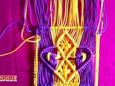 How to make Beautiful Macrame hanging.jhula