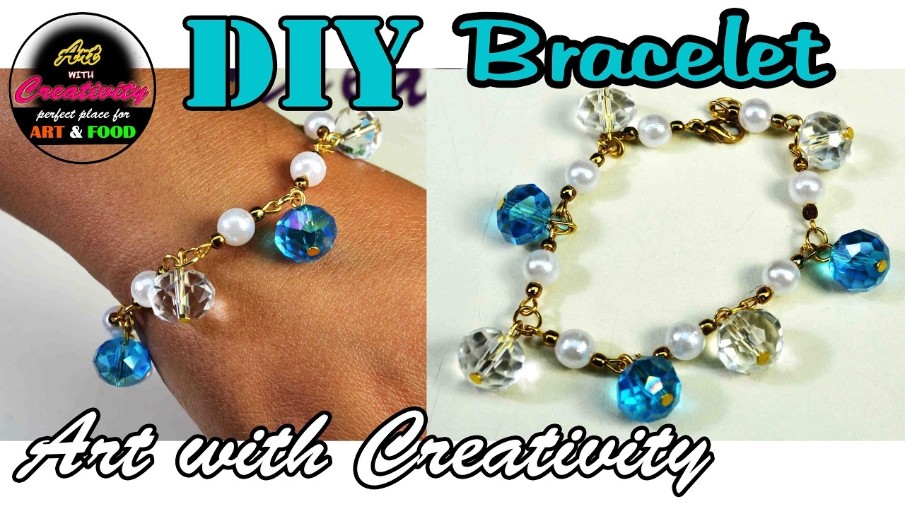 HOW TO: make bracelet | Simple and easy | Art with Creativity 154