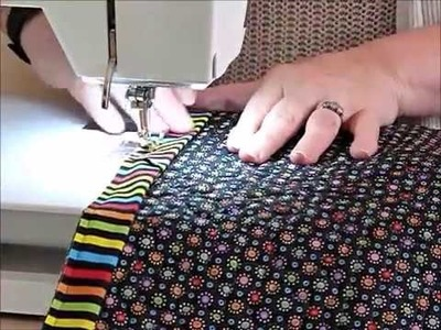 How to make Bugs in Boxes Quilt Part 3 of 3 - Quilting Tips & Techniques 212