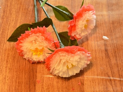 How to make flower paper