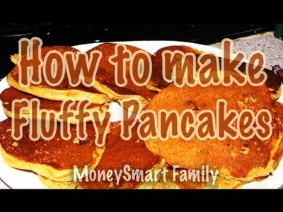 How to Make Fluffy Sour Milk Pancakes - A recipe with secret ingredients!