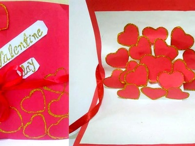 How to make - handmade CARD for VALENTINE