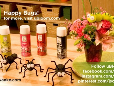 How to Make Happy Bugs with Styrofoam Shapes!