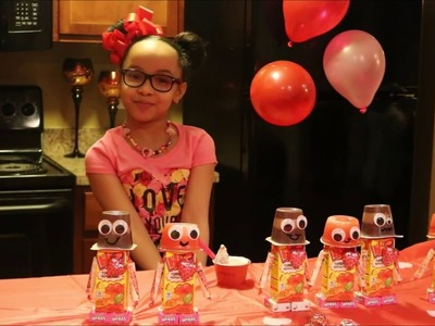 HOW TO MAKE JUICE BOX ROBOTS| WITH ZARIA