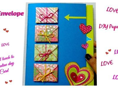 How to make mini envelope for valentine day