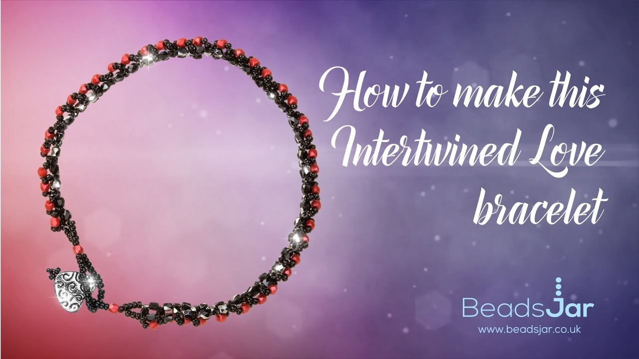 How to make this Intertwined Love bracelet | Druk Beads