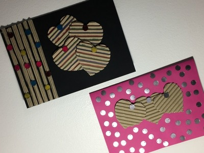 How To Make - Valentine's Day Greeting Card With Cardboard
