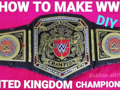 How To Make Wwe United Kingdom Championship