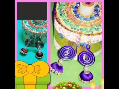 How to make zeo duck earrings in home easy way\gift this festival season