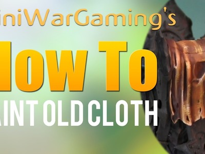 How To: Paint Old Cloth