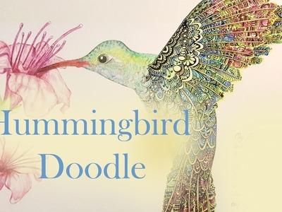 It's a birdzengle ! How i draw a Hummingbird