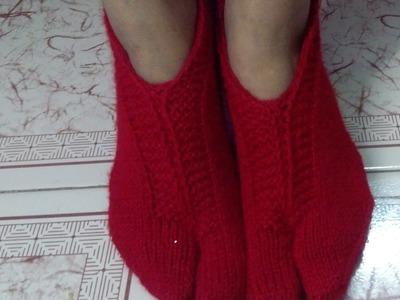 Ladies socks knitting | sock knitting