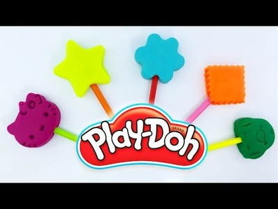 Learn Colors with Mold Fun for Children How To Make Play Doh Ice Cream Popsicles