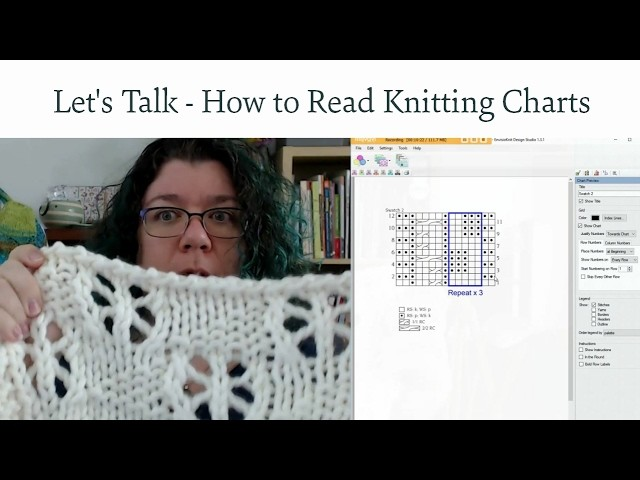 Let's Talk Knitting - How to Read Knitting Charts